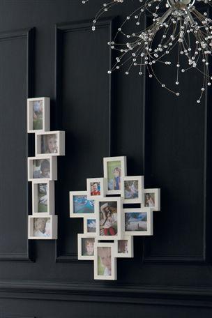 White collage frame