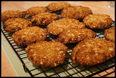 Anzac biscuits take 1