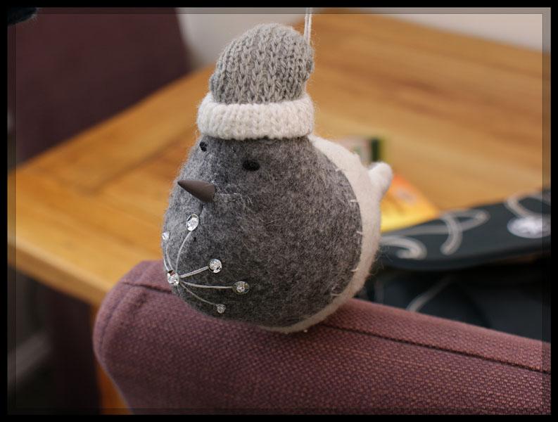 Christmas robin take 1
