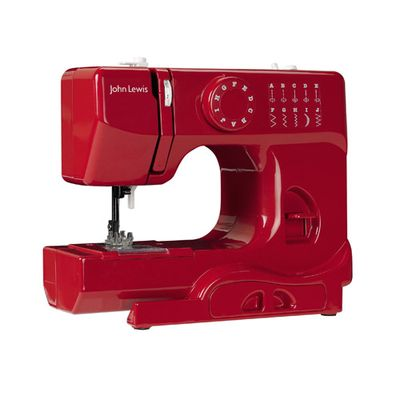 JL red sewing machine