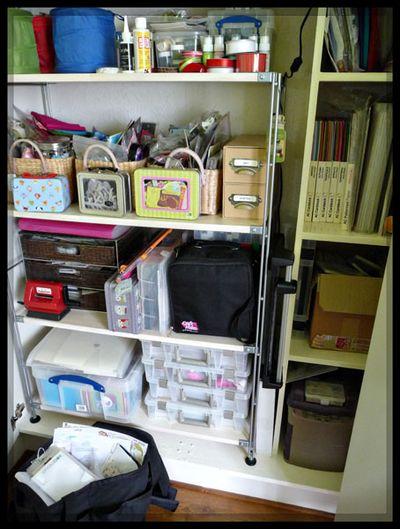 Stash cupboard