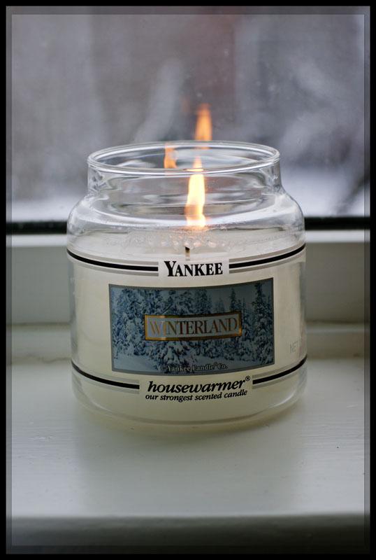 Winterland candle