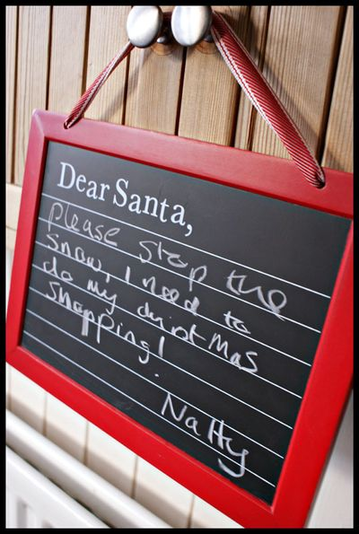 Message to Santa