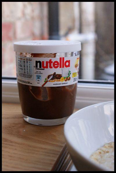 Nutella porridge