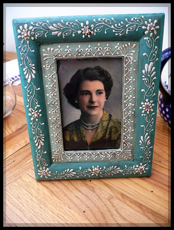 Grandma framed