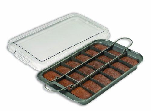Brownie pan with lid