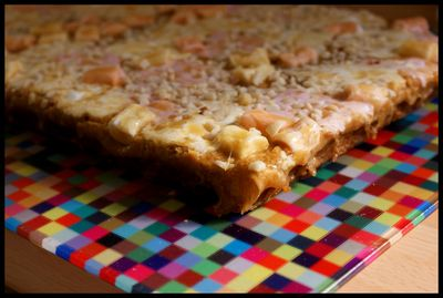 Marshmallow and butterscotch bars 2