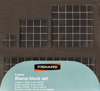 Fiskars - Acrylic block set