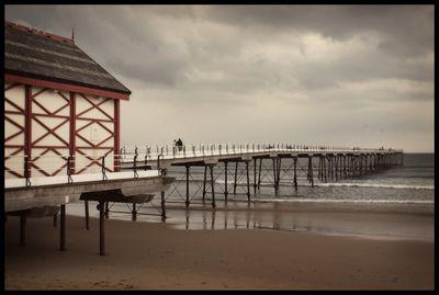 Saltburn pier - framed