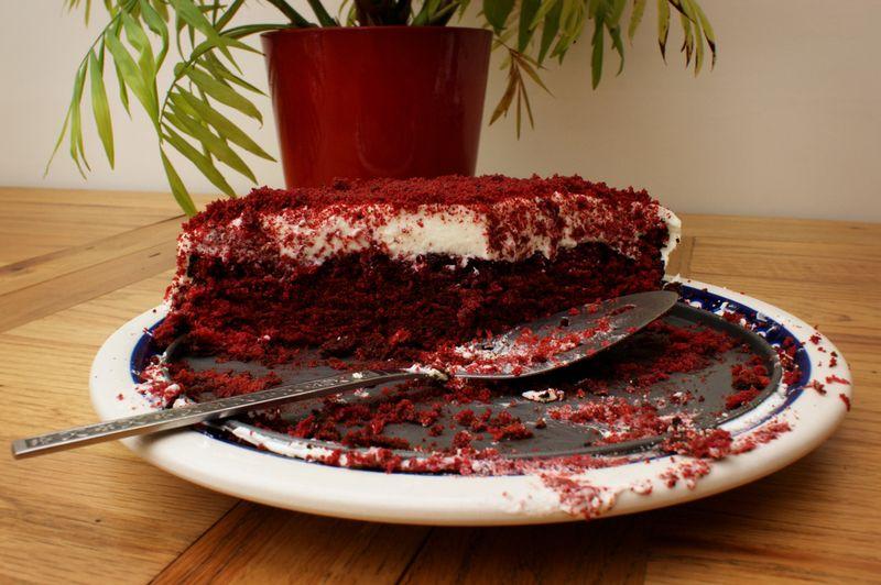 Red Velvet Cake after