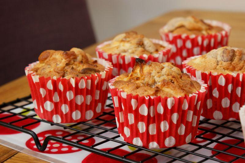 Apple walnut pecan cupcakes 1