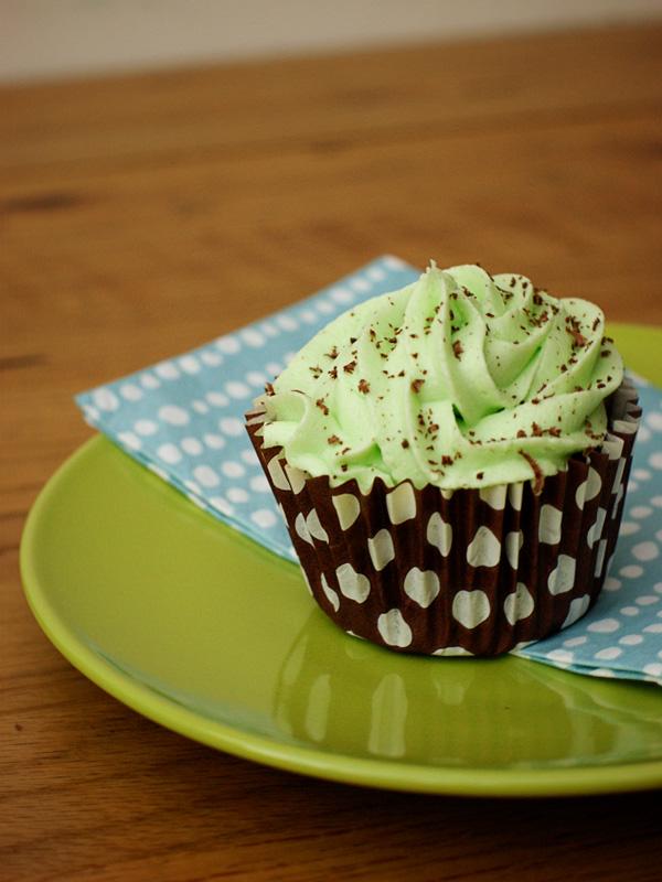 SmallMint choc cupcakes