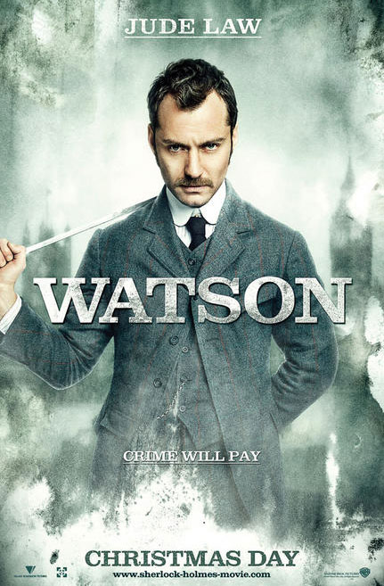 Jude Law Dr Watson