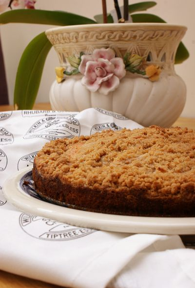 Apple streusel cake 1