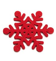 M&S snowflake coaster