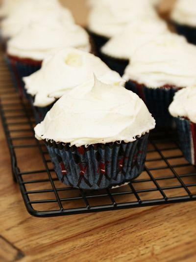Jubilee red velvet cupcakes 2