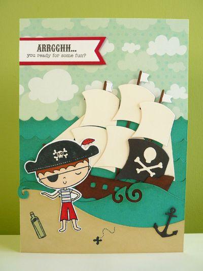 Xcut Nautical dies - pirate theme