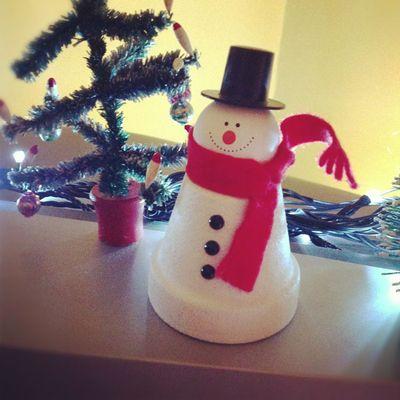 Flowerpot snowman_sm