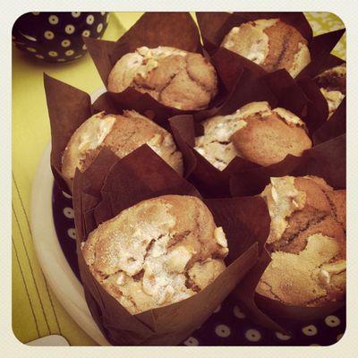 Hazelnut praline muffins_sm