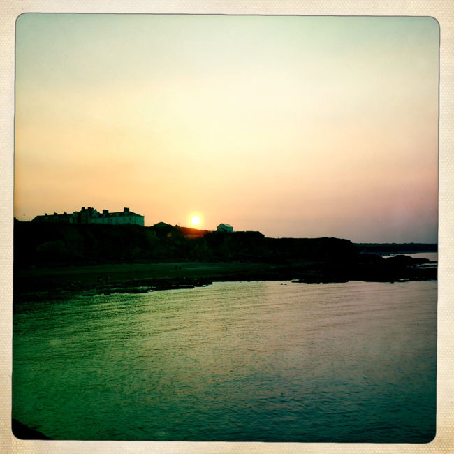 Beach sunset_sm