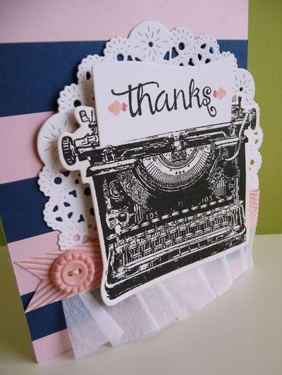 Thank you card Inspired by deck chair stripes - 2013-07-06 - koolkittymusings.typepad.com