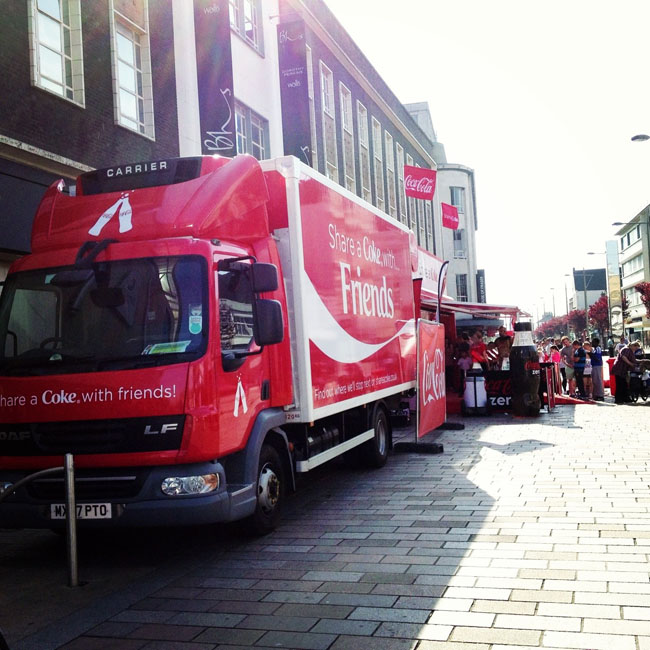 Coke truck queue_sm