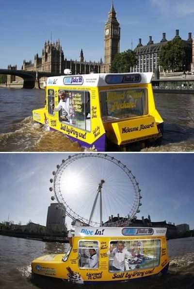 2013-07-18 - Amphibious ice cream van