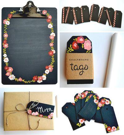 2013-08-22 - Chalkboard tags