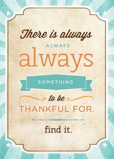 2013-08-26 - Thankful for