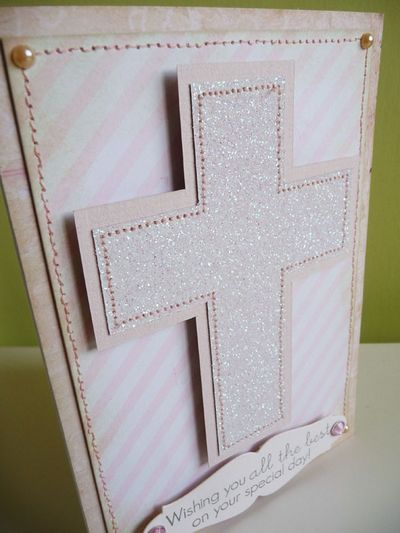 Holy Communion wishes - Card 2013-06-07 - close-up