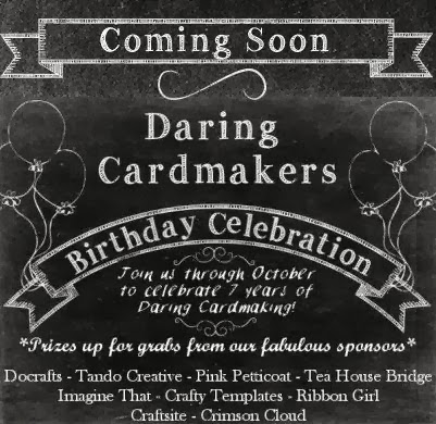 Daring Cardmakers birthday celebration