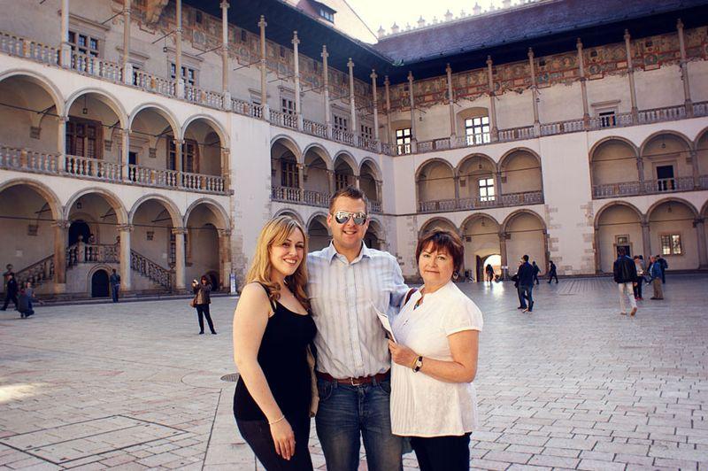 Wawel courtyard_sm