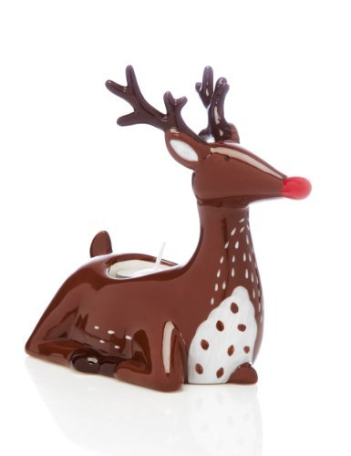 MandS reindeer tea light holder
