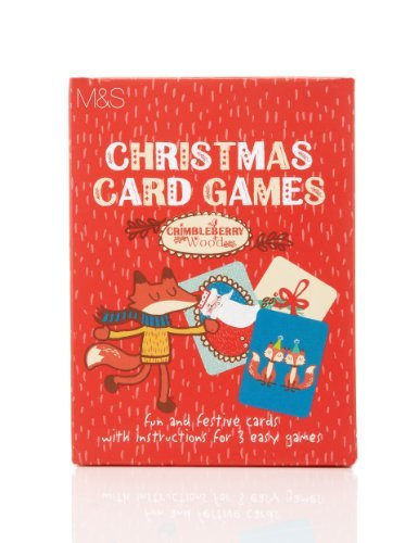 MandS christmas card game