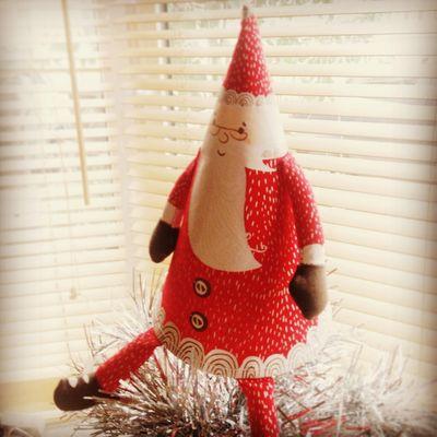 Dec 01 decoration - Santa