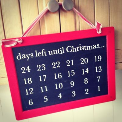 The countdown begins