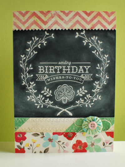 Chalkboard birthday - koolkittymusings.typepad.com