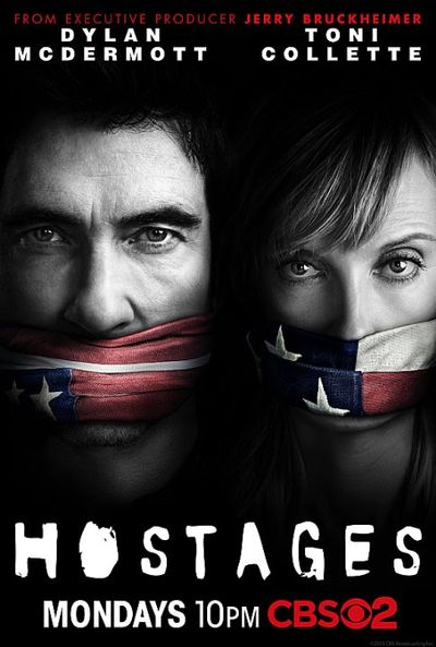 Hostages tv poster