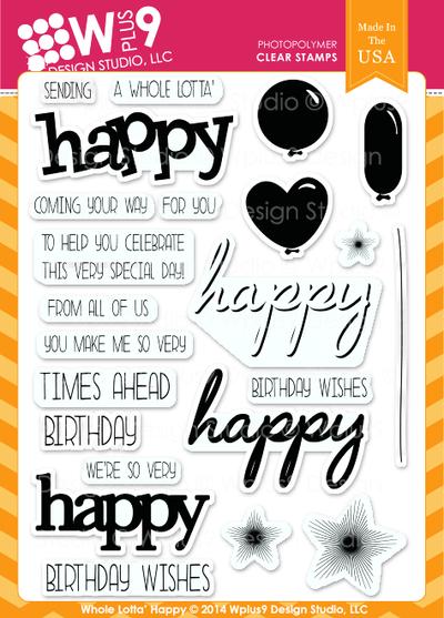Wplus9 - whole lotta' happy