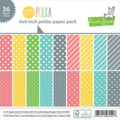Lawn Fawn - lets polka pad