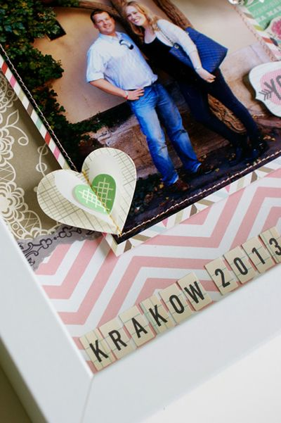 Konrad and Kate frame - detail 2