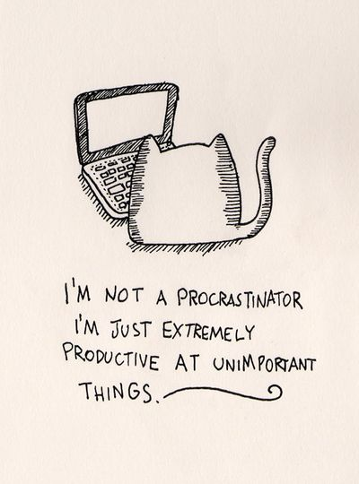 February is procrastination month