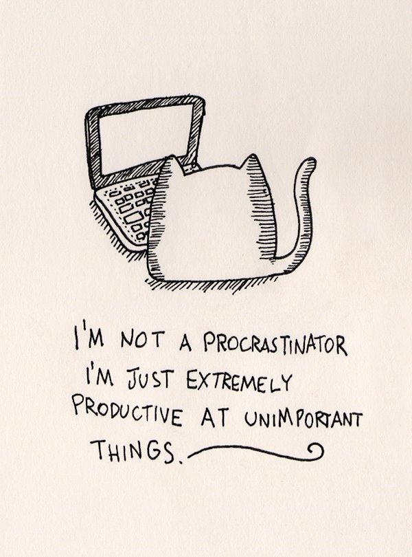 February is procrastination month