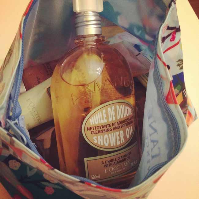 Almond shower oil - love_sm