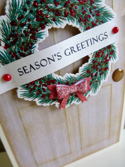 Festive door wreath - 2014-07-09 - koolkittymusings.typepad.com
