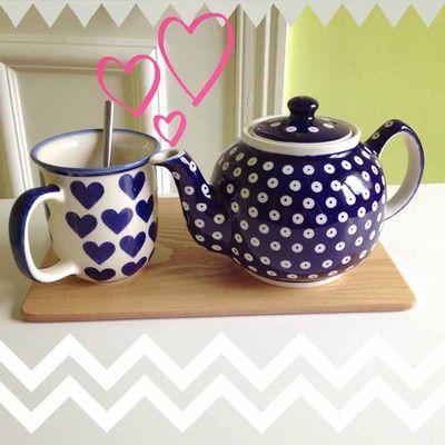 New boleslawiec teapot in action_sm