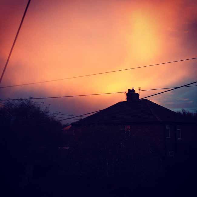 Dramatic evening skies_sm