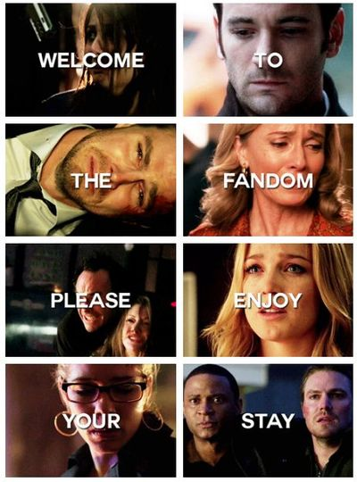 Welcome to the Arrow fandom