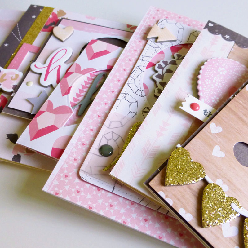 Crate Paper Kiss Kiss card ideas