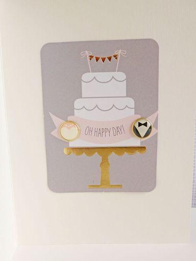 My Mind's Eye - Fancy That - Wedding card 2